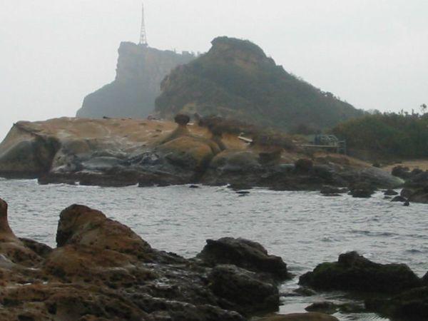 蕈狀岩遠照