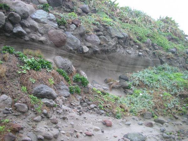 石門洞岩壁
