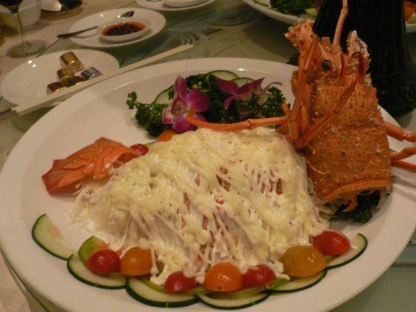 沙律龍蝦盤