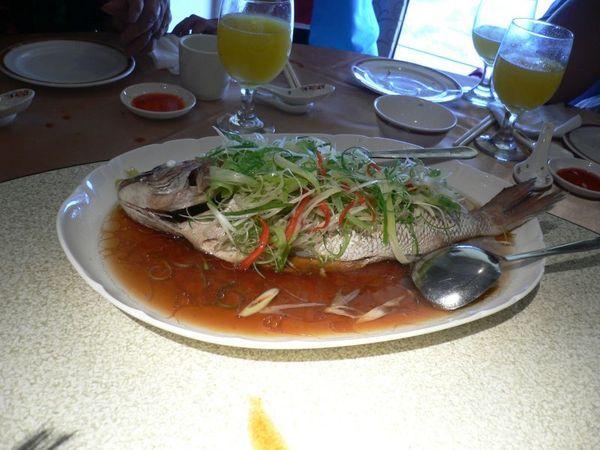 鮮露蒸紅魚