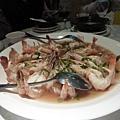 蒜茸蒸大蝦
