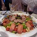 西式鵝肝醬拼鮭魚捲