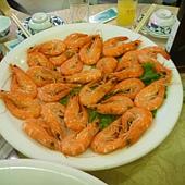 白灼活海蝦