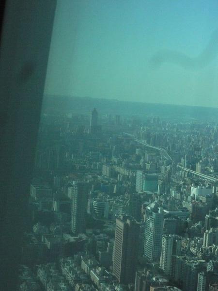 遠眺新光摩天樓