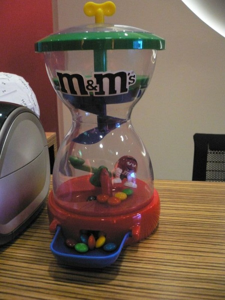 有趣的M&M巧克力