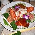 龍蝦沙拉+四色冷盤