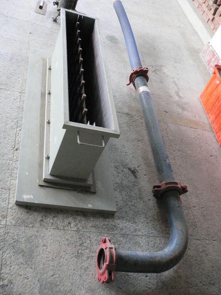 泵送管灌模試驗