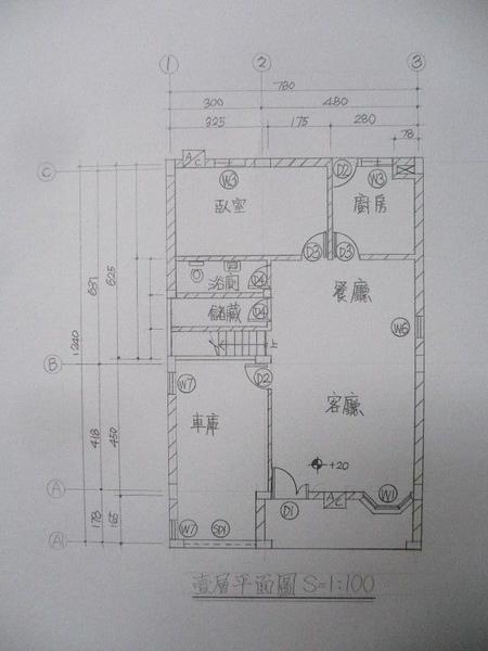 貳層平面圖