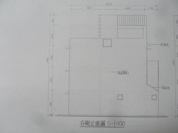 右側立面圖