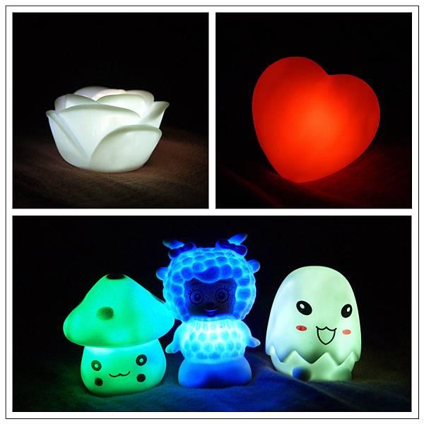 可愛LED夜燈