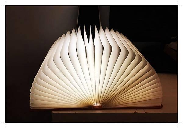 LED創意書本燈5