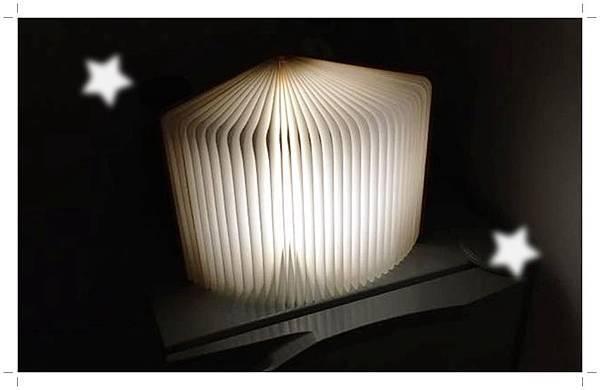 LED創意書本燈9