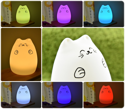 光博匯-LED貓咪小夜燈