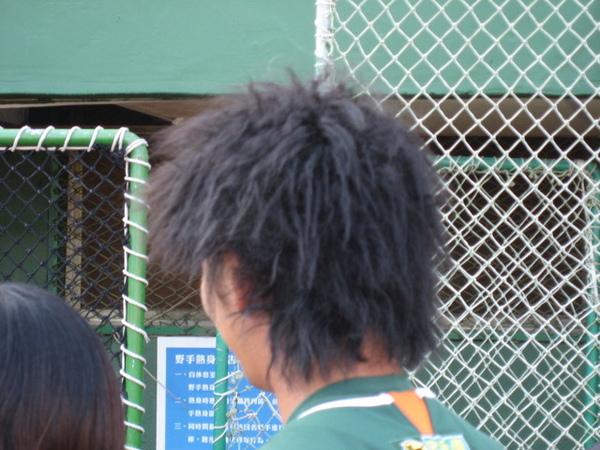 高志綱的新髮型