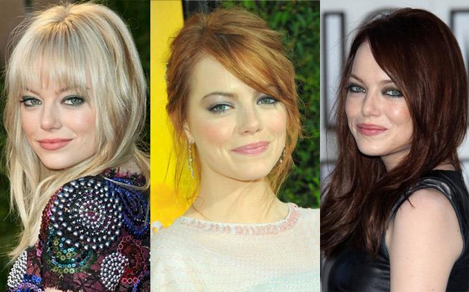Emma-Stone-Hair-Colours
