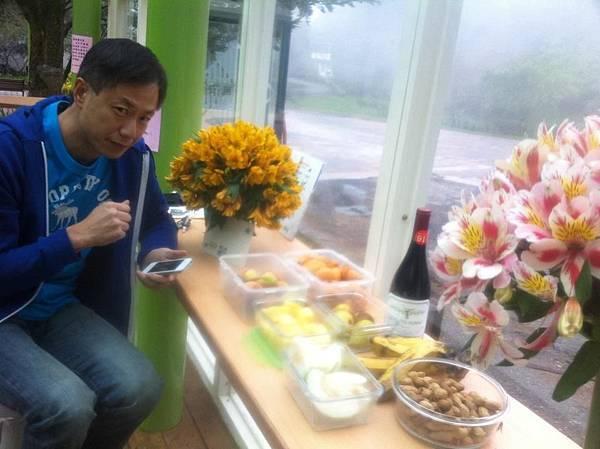 自家水果Buffet梅峰用餐區