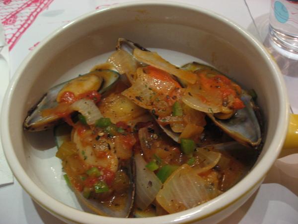 香炒孔雀貝
