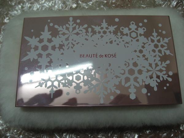 KOSE2007聖誕彩妝外觀