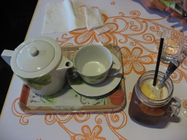 冷熱水果茶