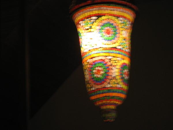 店內裝潢-神奇的燈