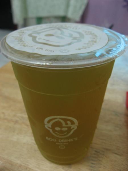 波哥的飲料-茉綠凍飲