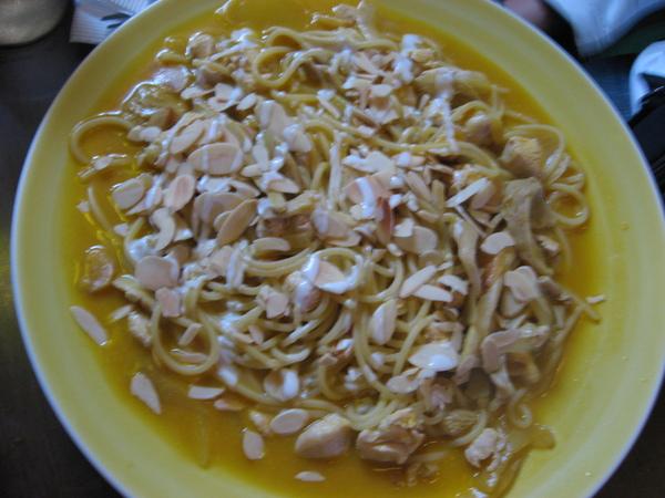 欣傑的南瓜雞肉麵