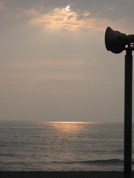 漂亮的海面陽光照射