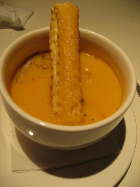 湯-杏鮑菇南瓜濃湯