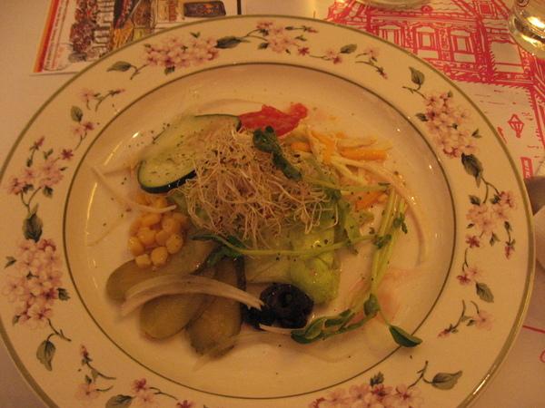生菜沙拉-紅酒醋醬