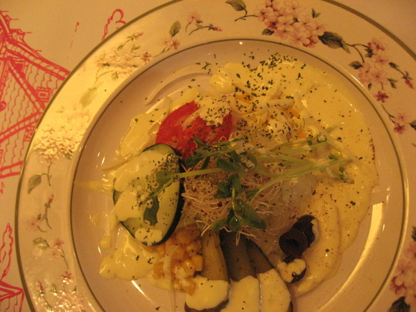 生菜沙拉-黃芥茉醬