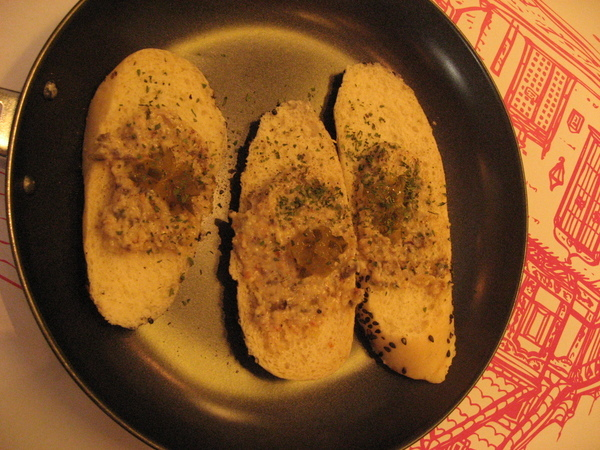酸黃瓜麵包