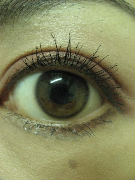 使用MQ RS733眼影盤之睜眼照
