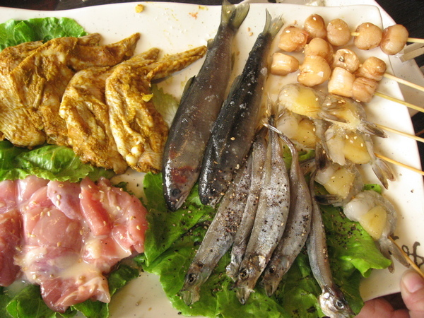 春喜海鮮類+肉類