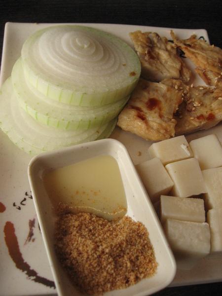 烤麻糬+沾醬