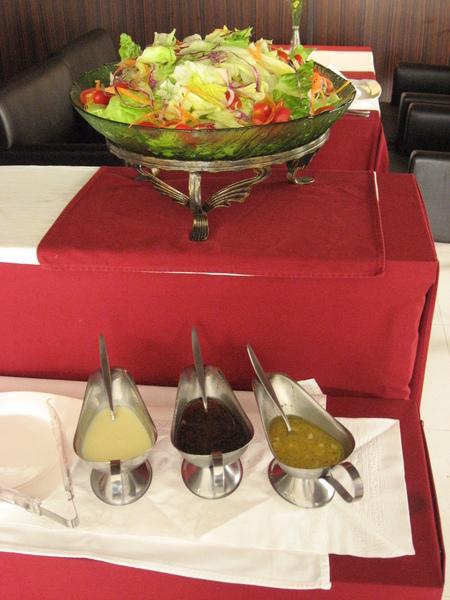生菜沙拉+沾醬