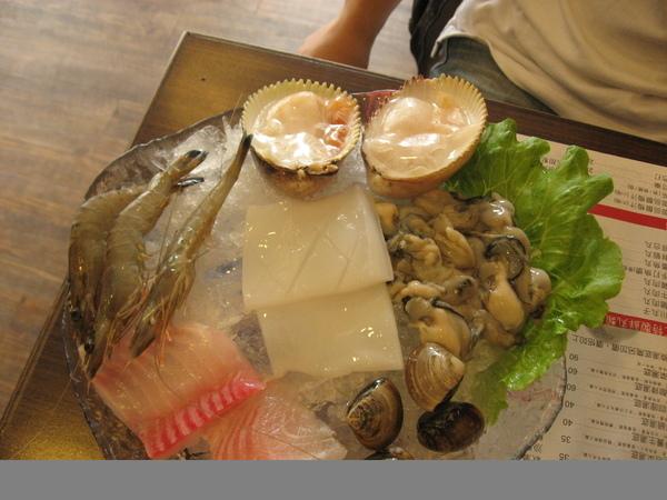 精品海鮮鍋菜盤