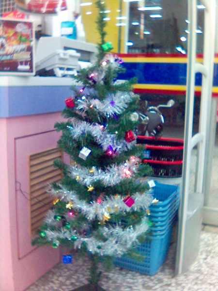 2007鹿港店的聖誕樹