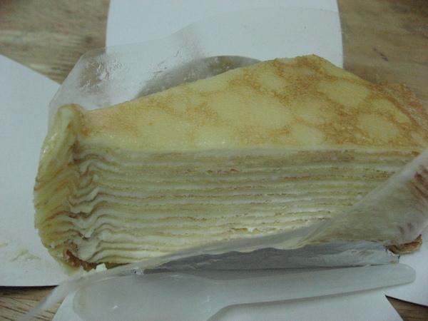 85度C的法式千層蛋糕