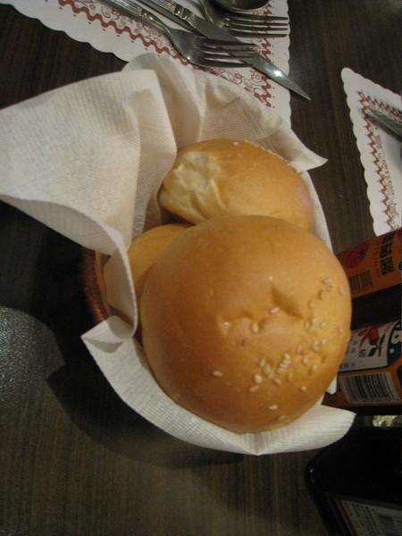 彰化炙燒牛排館的麵包