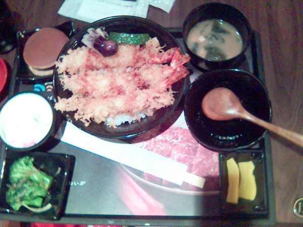 彰化定食8的炸明蝦定食
