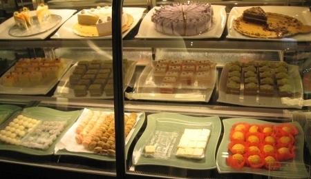 鮮友火鍋的蛋糕區