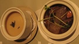 陶板屋的橫濱味噌濃湯+竹笙牛腩湯