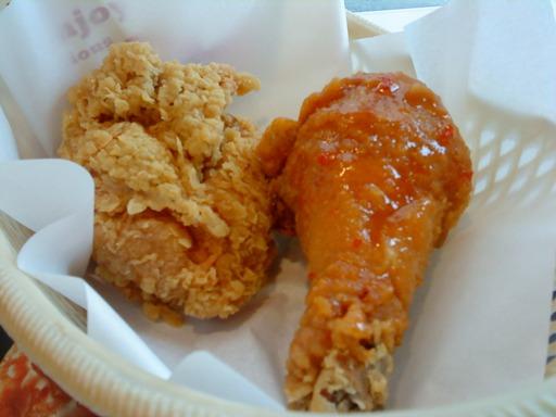 KFC泰式香檸霸王腿近拍.JPG