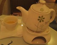 赫詩提雅的熱水果茶