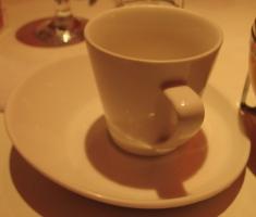 熱水果茶的杯子