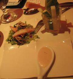 沙拉-海鮮生菜果醋莎拉