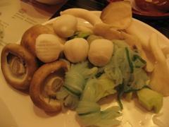 北澤壽喜燒的些許食材