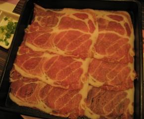 北澤壽喜燒的豬肉