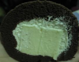 巧克力奶凍剖面