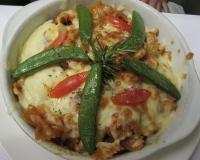 水相餐廳的茄汁海鮮蝴蝶麵